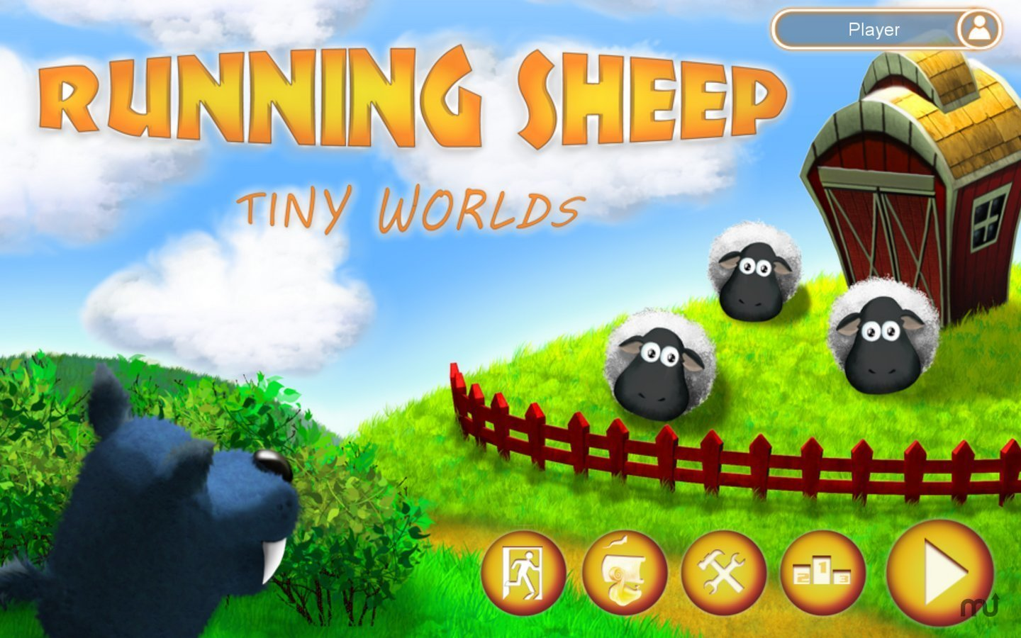 Screenshot 1 for Running Sheep: Tiny Worlds