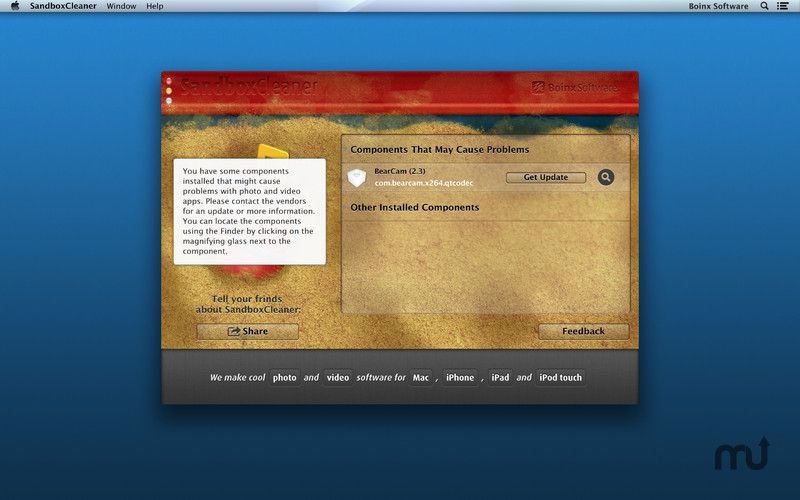 Screenshot 3 for SandboxCleaner