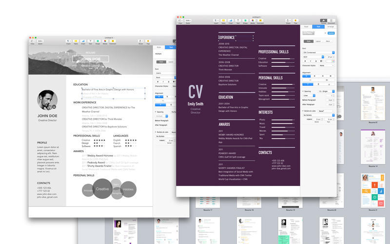 Screenshot 3 for Resume & CV Expert