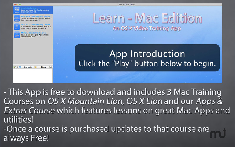 Screenshot 1 for Learn - Mac Edition