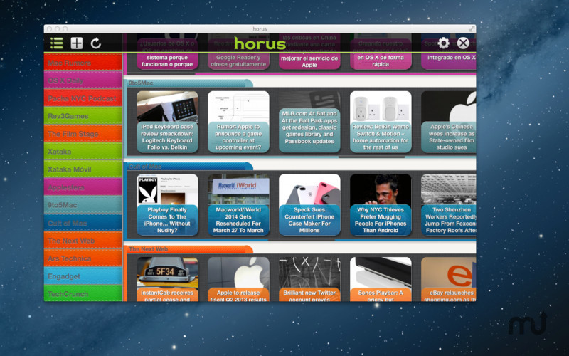 Screenshot 5 for Horus News Reader