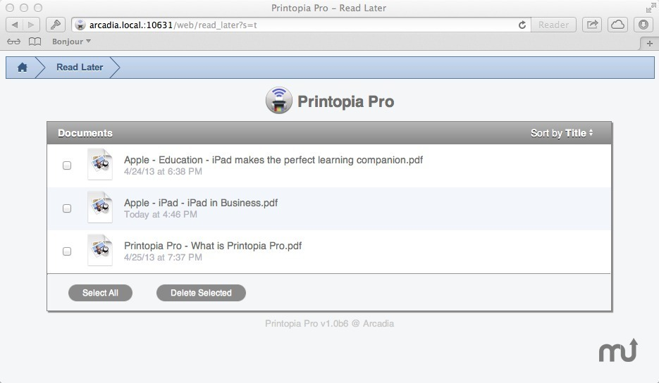 Screenshot 3 for Printopia Pro