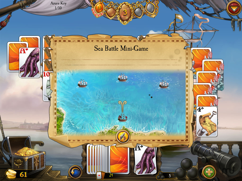 Screenshot 4 for Seven Seas Solitaire