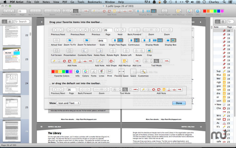 Screenshot 1 for PDF Artist