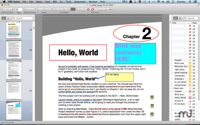 Screenshot 3 for PDF Artist