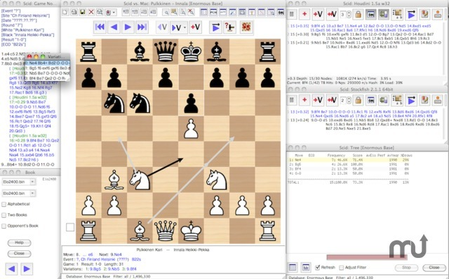 Screenshot 1 for Scid vs. Mac