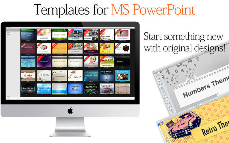 Screenshot 2 for Templates for MS PowerPoint Presentations