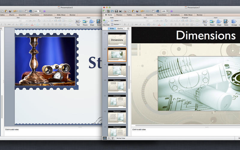 Screenshot 4 for Templates for MS PowerPoint Presentations