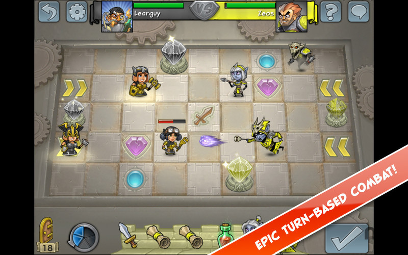 Screenshot 1 for Hero Academy