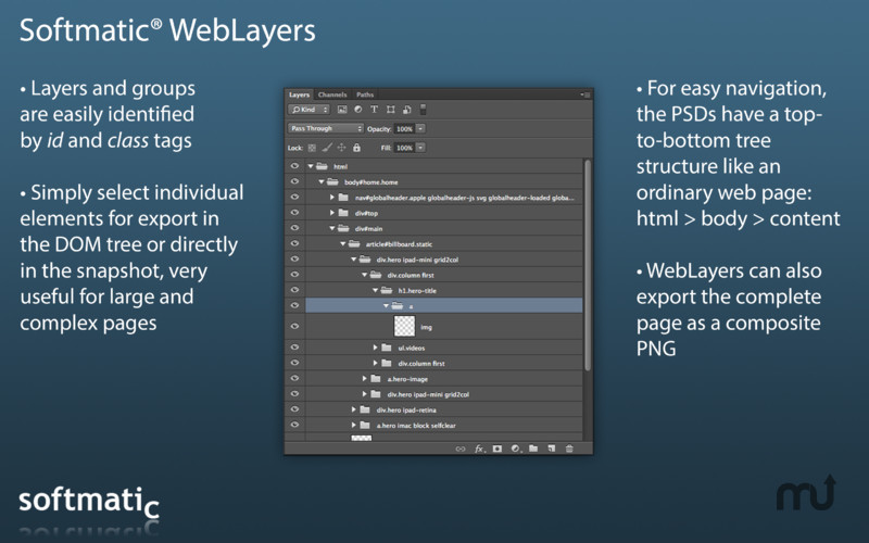 Screenshot 4 for Softmatic WebLayers