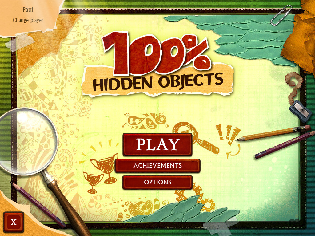 Screenshot 1 for 100% Hidden Objects