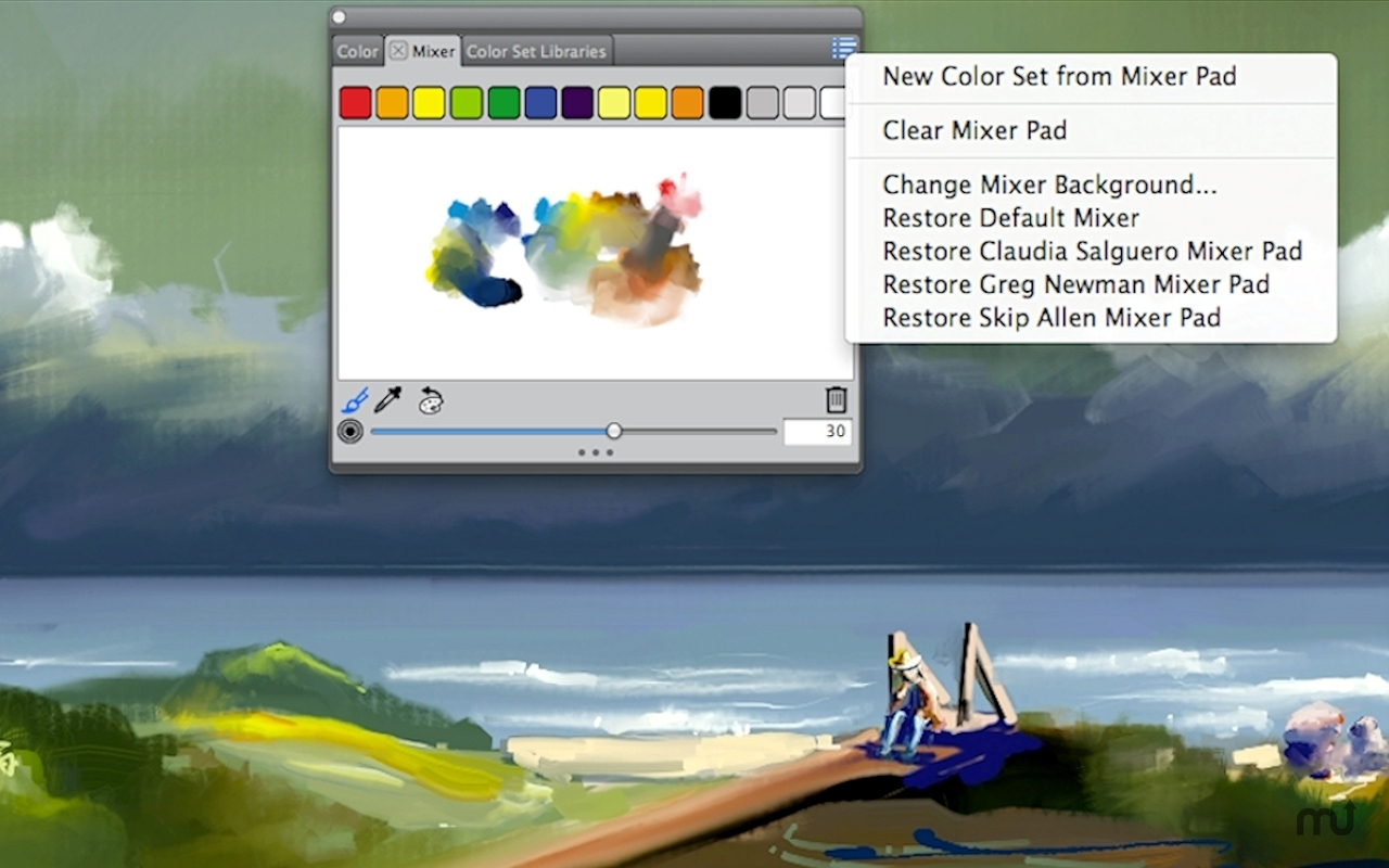 Screenshot 2 for Corel Painter Lite