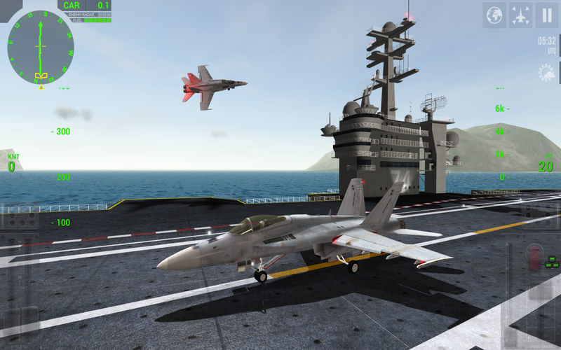 Screenshot 1 for F18 Carrier Landing