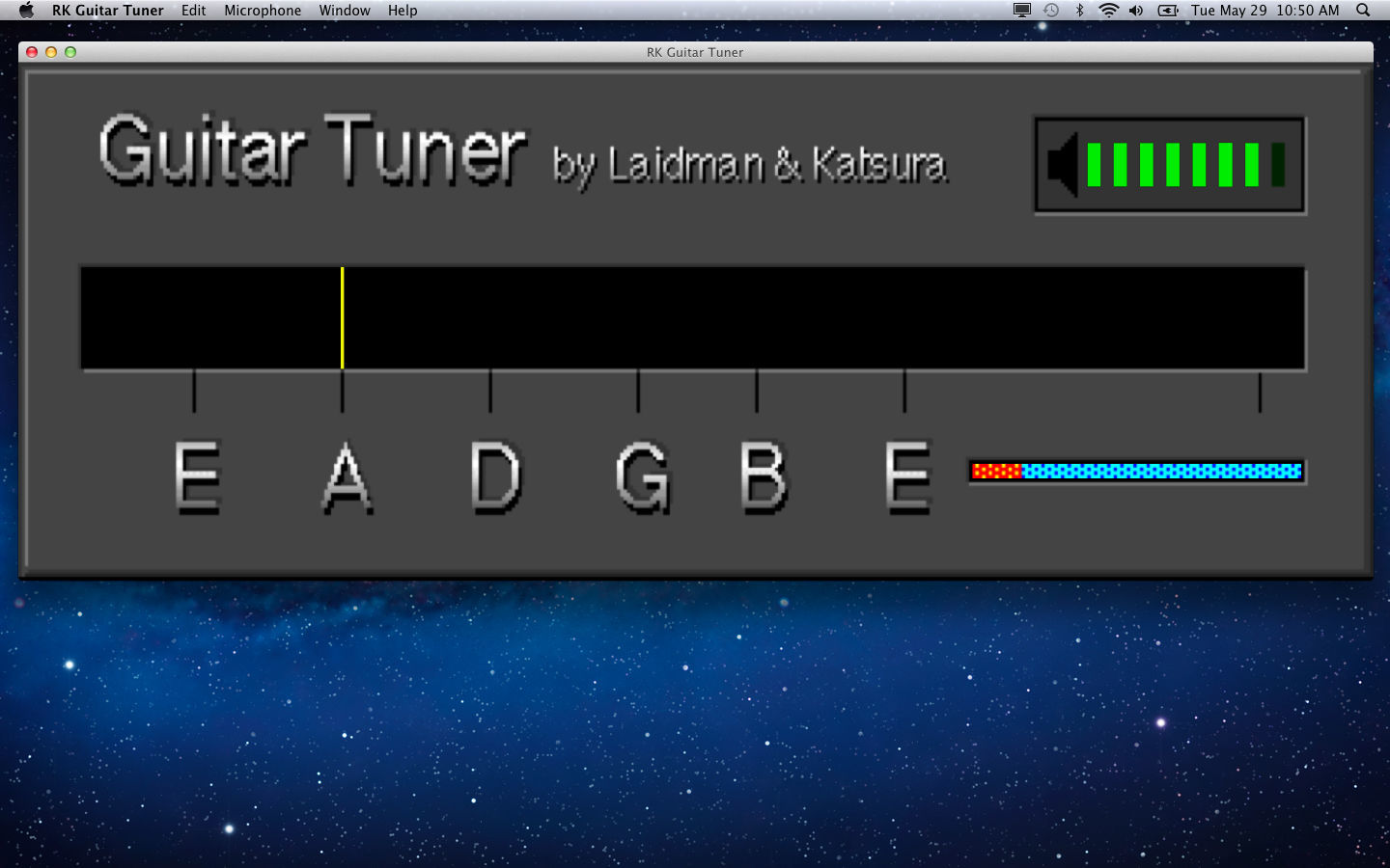 Screenshot 2 for RK Guitar Tuner