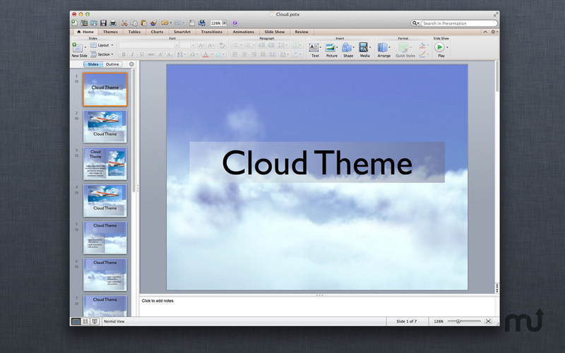 Screenshot 2 for Motion Templates for MS PowerPoint