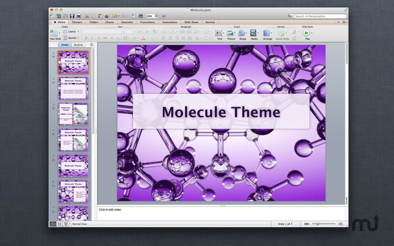 Screenshot 4 for Motion Templates for MS PowerPoint