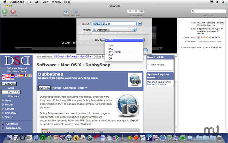 Screenshot 3 for DubbySnap
