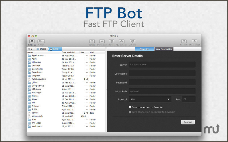 Screenshot 1 for FTP Bot