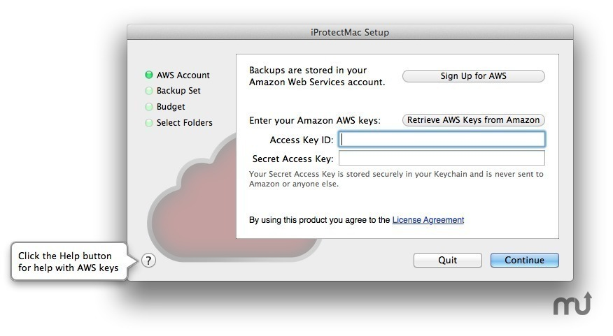 Screenshot 1 for iProtectMac