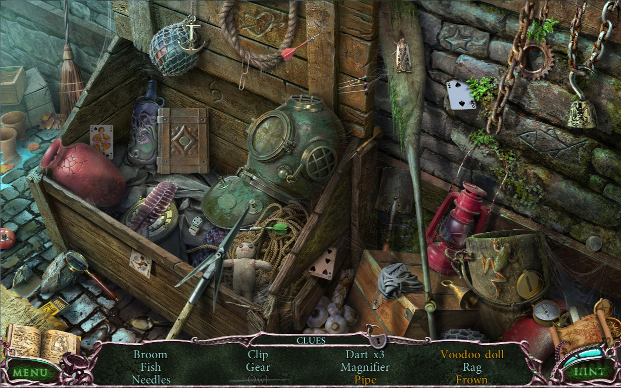 Screenshot 1 for Mystery Of The Ancients: Curse Of The Black Water