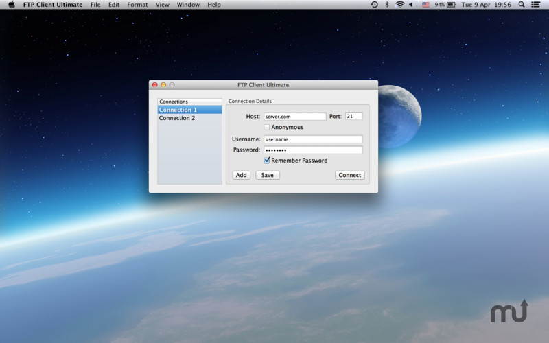 Screenshot 1 for FTP Client Ultimate