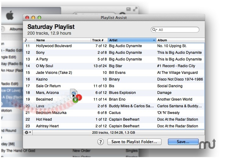 Screenshot 1 for Playlist Assist