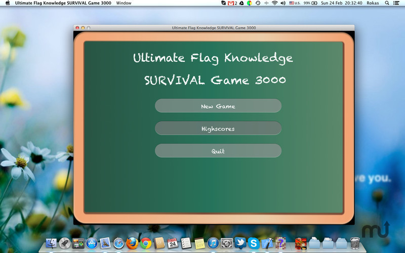 Screenshot 1 for Ultimate Flag Knowledge SURVIVAL Game 3000