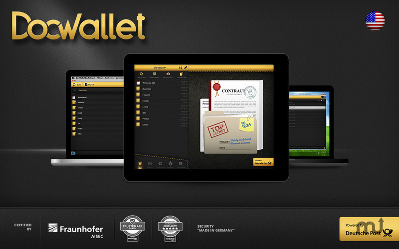 Screenshot 1 for DocWallet