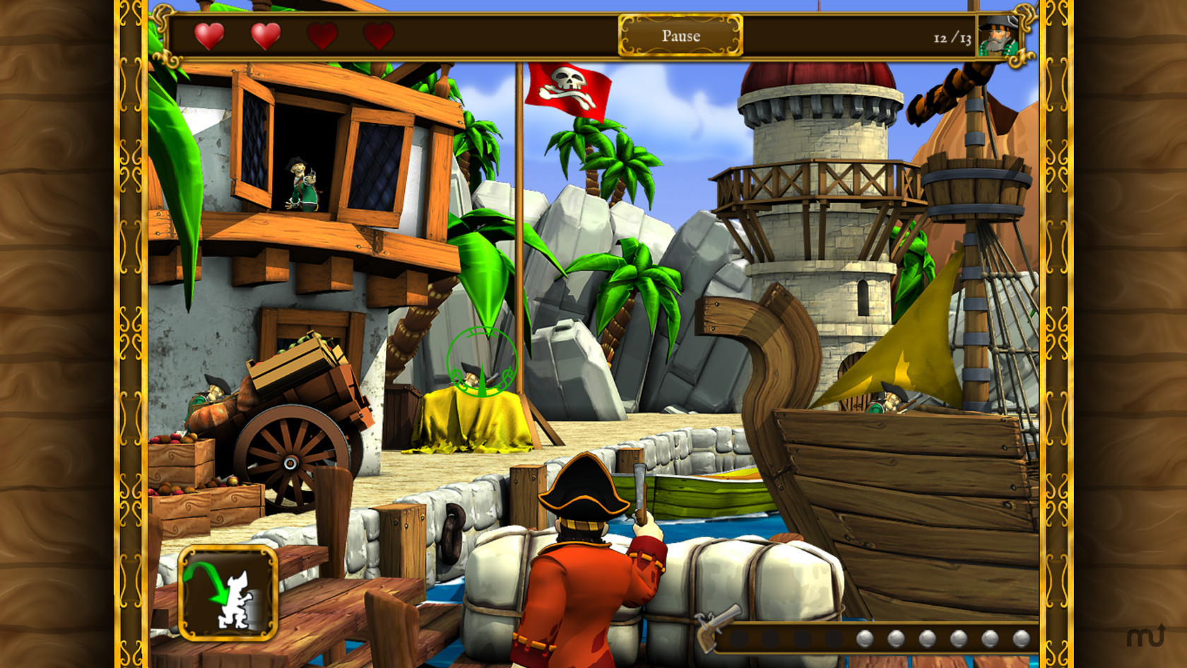 Screenshot 1 for Pirates vs. Corsairs: Davy Jones' Gold