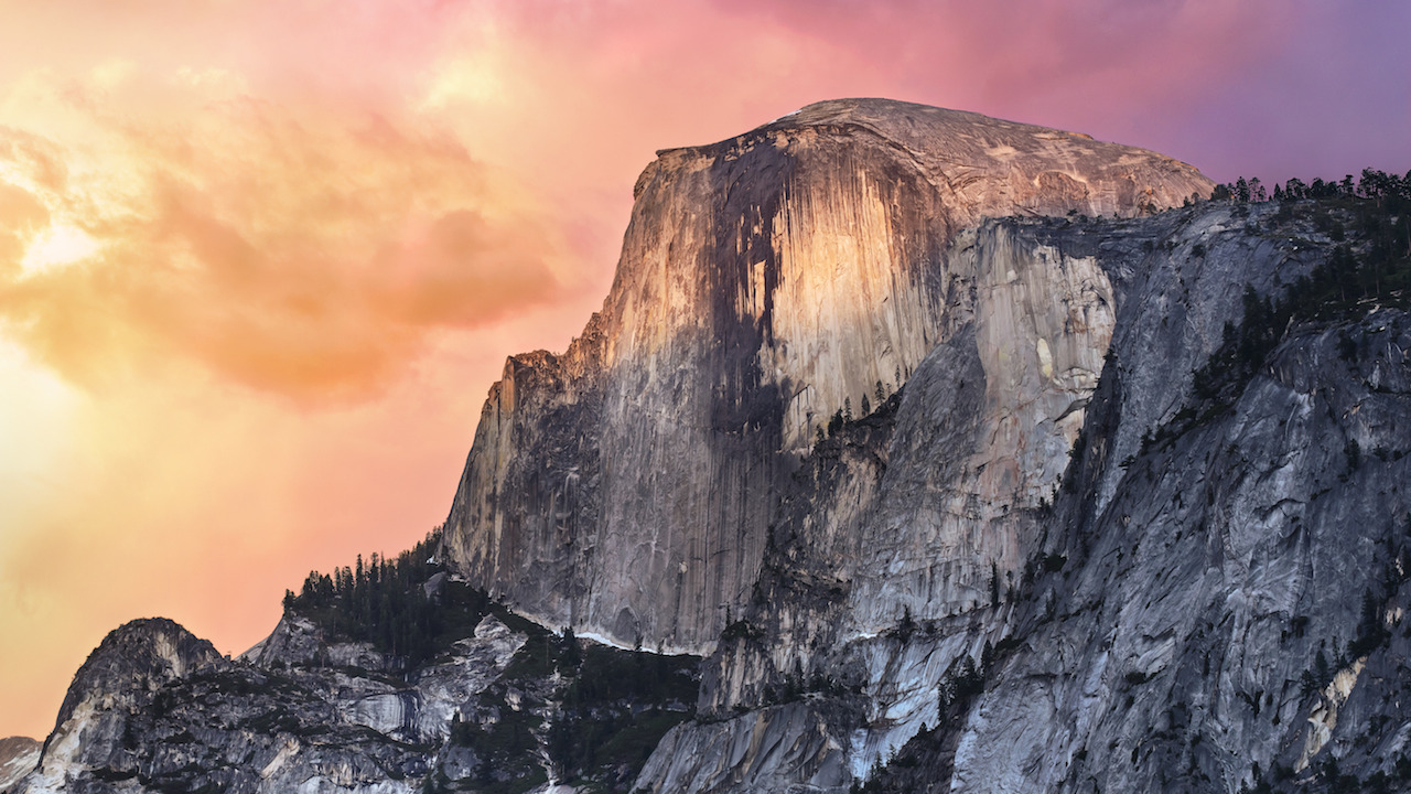 Screenshot 1 for OS X Yosemite Wallpaper