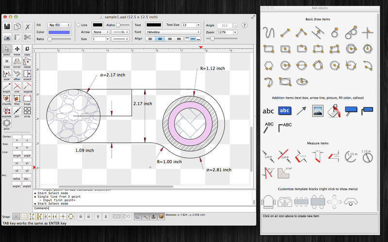 Screenshot 1 for SimpleCAD