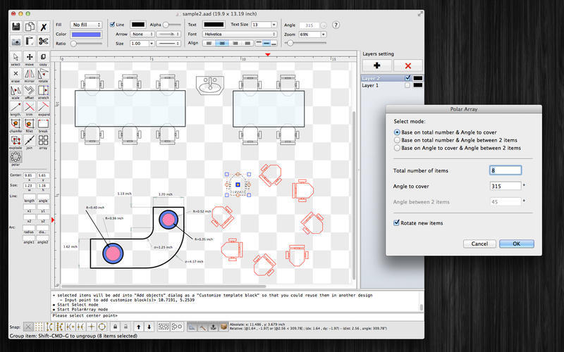 Screenshot 2 for SimpleCAD