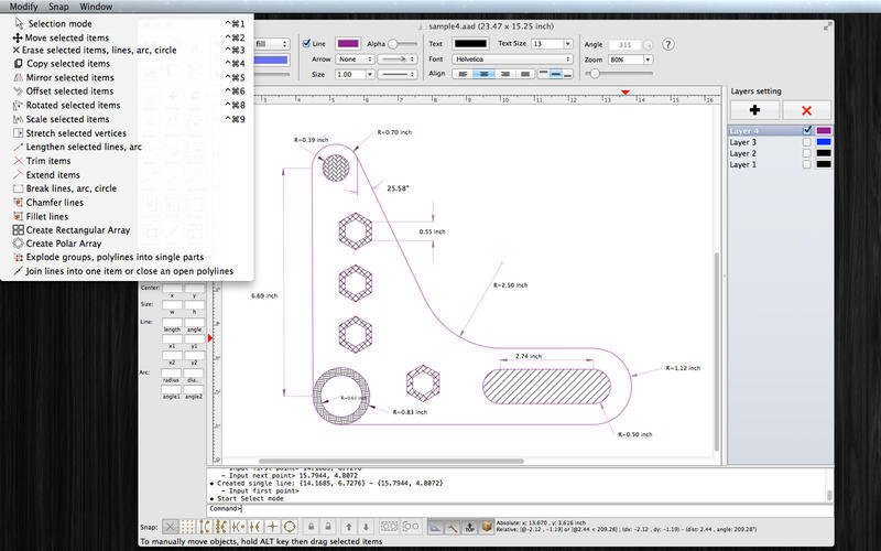 Screenshot 4 for SimpleCAD
