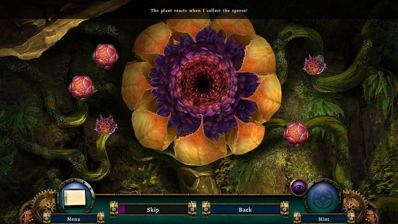 Screenshot 1 for Botanica: Into The Unknown