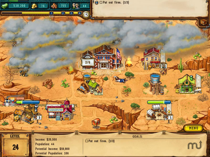 Screenshot 1 for The Golden Years: Way Out West