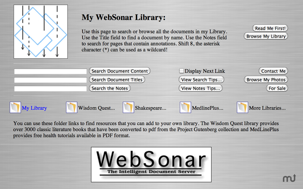 Screenshot 2 for WebSonar
