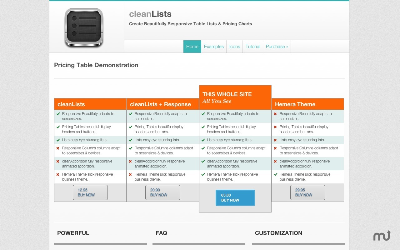Screenshot 2 for cleanLists