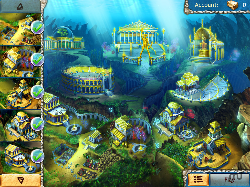 Screenshot 2 for Jewel Legends Atlantis