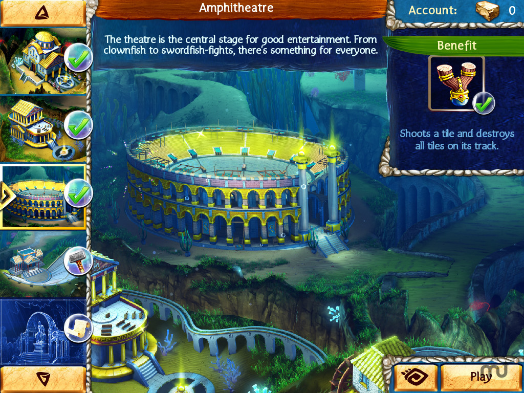 Screenshot 3 for Jewel Legends Atlantis