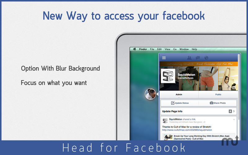 Screenshot 4 for Head for Facebook