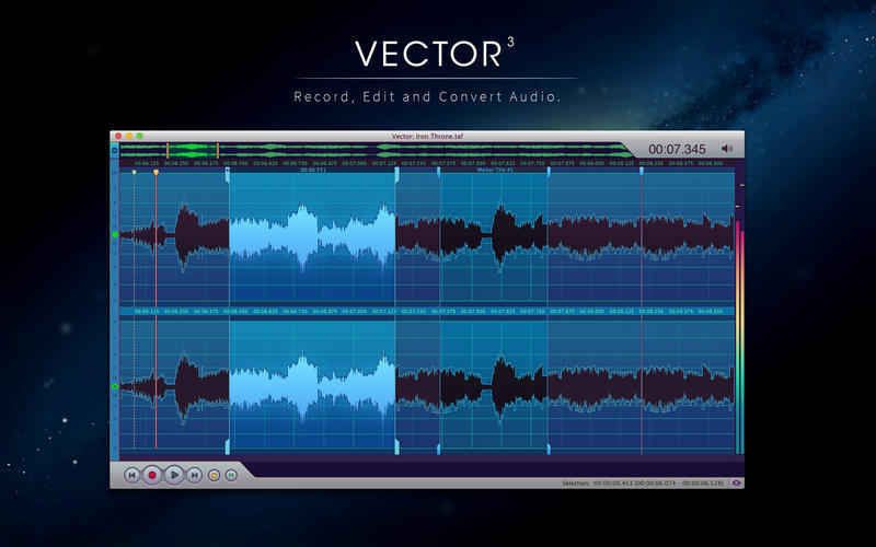 Screenshot 1 for Vector 3 Express: Audio Editor