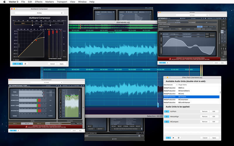 Screenshot 3 for Vector 3 Express: Audio Editor