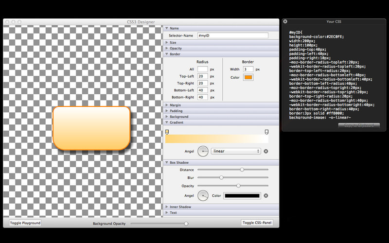 Screenshot 2 for CSS3Designer
