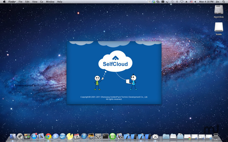 Screenshot 1 for SelfCloud