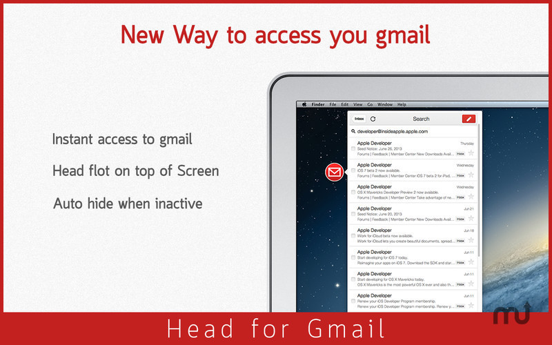 Screenshot 1 for Head for Gmail