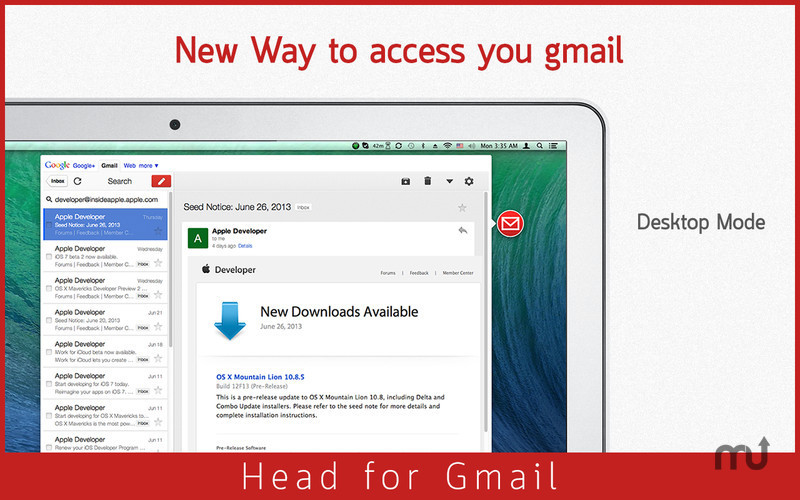 Screenshot 3 for Head for Gmail