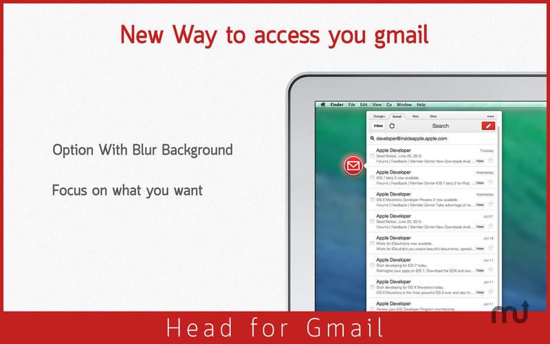 Screenshot 4 for Head for Gmail