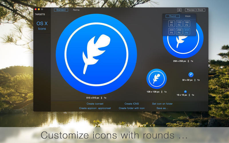 Screenshot 1 for IconFly Desktop