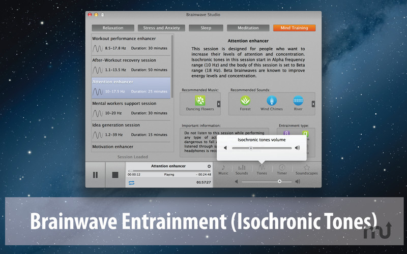 Screenshot 3 for Brainwave Studio
