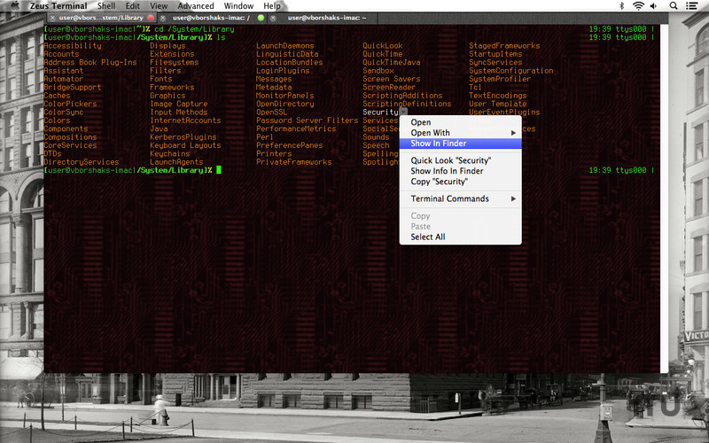 Screenshot 1 for Zeus Terminal